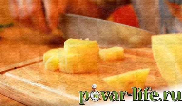 Рецепт домашнего сырного супа