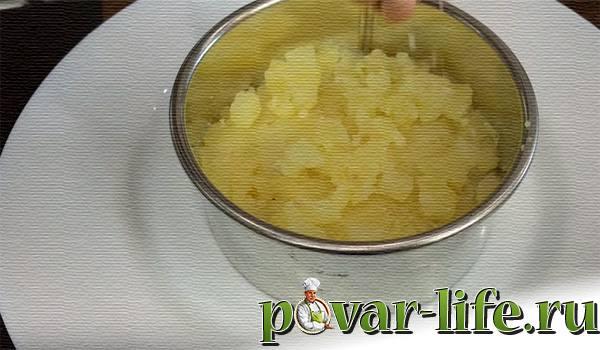 "Салат ""Красная шапочка"" с гранатом"