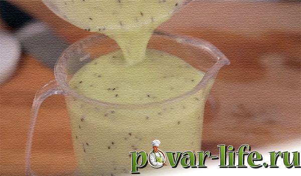 Фруктово - ягодный смузи в домашних условиях