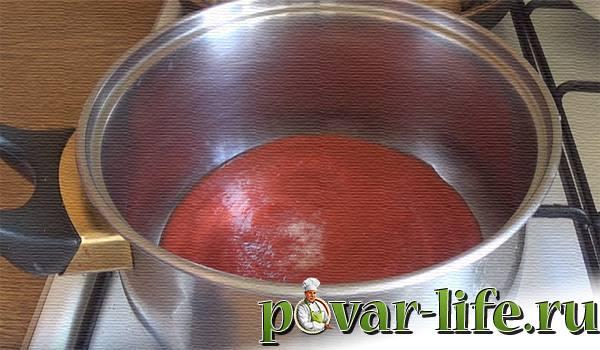 Домашние тефтели в томатном соусе