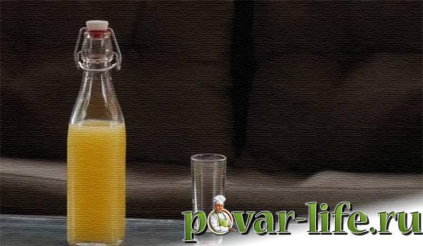лимончелло в домашних условиях на спирту