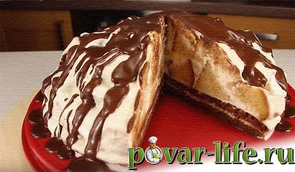 """Рецепт вкусного торта """"Вулкан"""""""