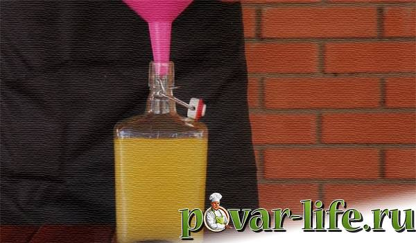"""Домашний Итальянский """"Лимончелло"""" на спирту"""