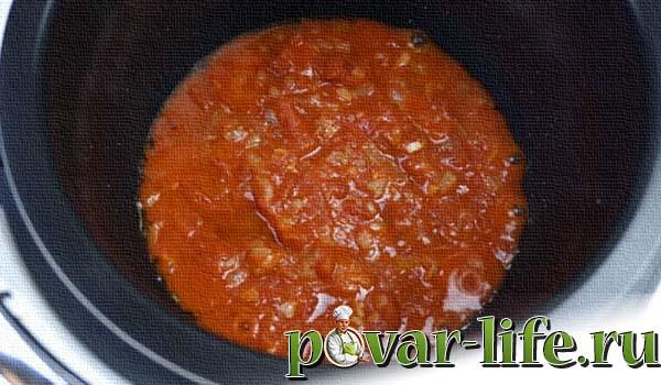 Рецепт овощного рагу с фото в мультиварке