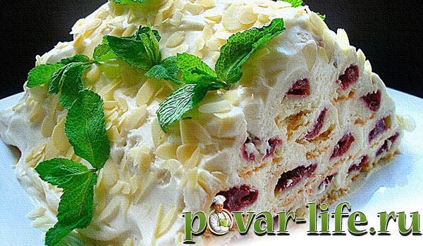 рецепт торт вишневая горка рецепт фото