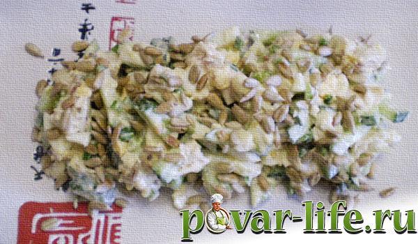 Рецепт салата с репой изоражения