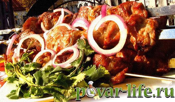 Рецепты грузинского маринада к шашлыку