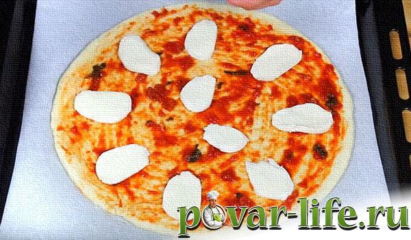 Пицца четыре сыра рецепт с пошагово