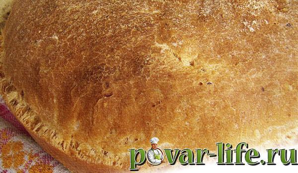 Хлеб домашний в духовке на сухих дрожжах рецепты пошагово